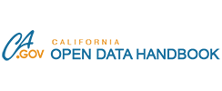 California Open Data Handbook website
